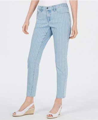 Charter Club Bristol Tummy-Control Skinny Ankle Jeans