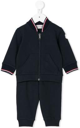 Moncler striped trim tracksuit set