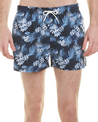 Knowledge Cotton Apparel Knowledgecotton Printed Swim Short