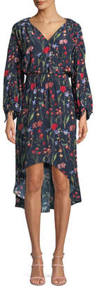 Parker Xiomara Floral Hi-Low Dress
