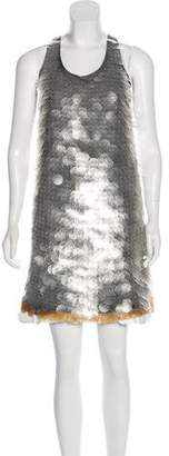 Marni Embellished Shift Dress