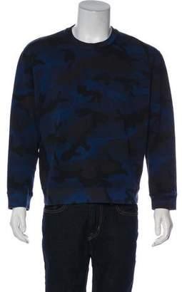 Valentino Camouflage Rockstud Sweatshirt