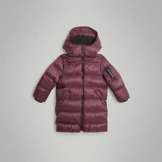 Burberry Childrens Detachable Hood Down-filled Puffer Coat