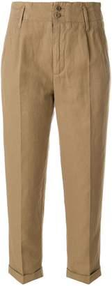 Aspesi high rise cropped pants