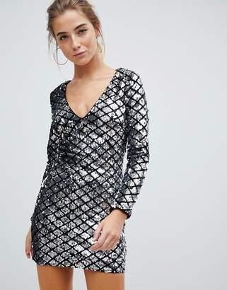Parisian Sequin Dress