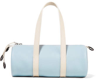 Simon Miller Toolkit Mini Textured-leather Tote - Sky blue bb46145d9de59