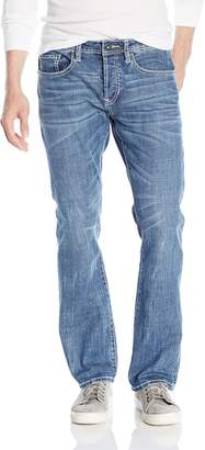 Buffalo David Bitton Men's King Slim Boot Cut Jean in New Spirit