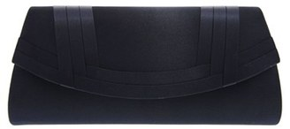 Nina Avis Pleated Classic Clutch - Blue $45 thestylecure.com