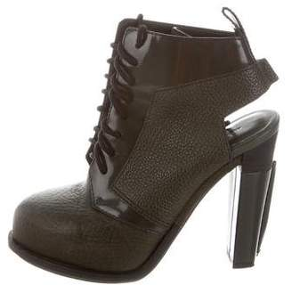 Alexander Wang Platform Lace-Up Booties