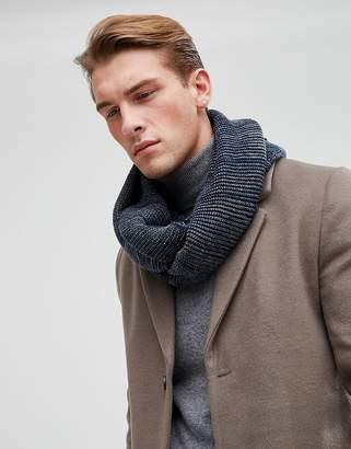 Esprit Infinity scarf In Navy