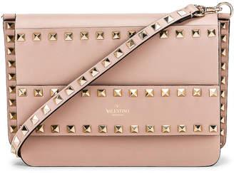 Valentino Rockstud Crossbody Camera Bag in Poudre | FWRD