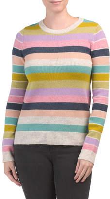 Wool Multi Striped Sweater