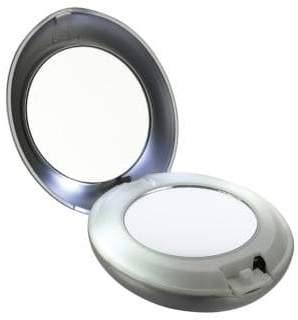 Tweezerman LED Light Compact Mirror