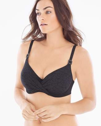 Fantasie Montreal Full D-F Cup Swim Bikini Top Black