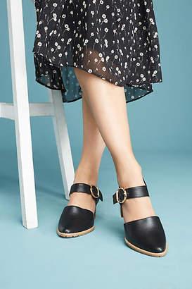All Black Strap Heels
