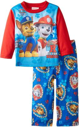 Nickelodeon Paw Patrol Little Boys' R Is For Rescue 2-Piece Pajama Set