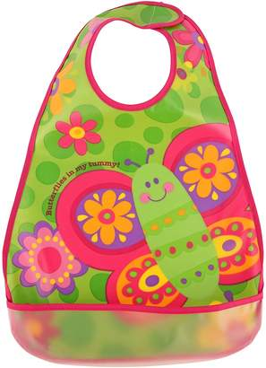 Stephen Joseph Butterfly Wipeable Bib