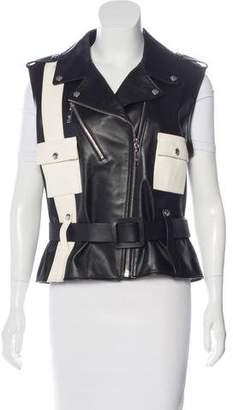 Louis Vuitton Spring 2016 Leather Moto Vest