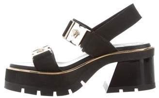 Versace Medusa Flatform Sandals