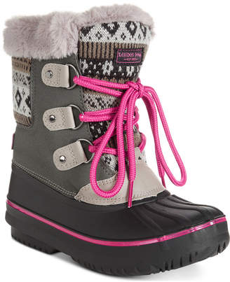 London Fog Little & Big Girls Tottenham Snow Boots