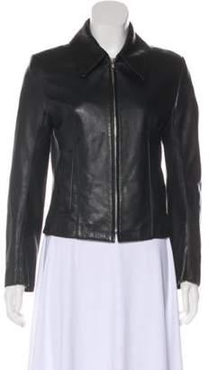 Ann Demeulemeester Lightweight Leather Jacket
