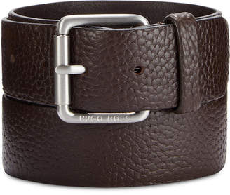 BOSS Men's Pebble Leather Belt