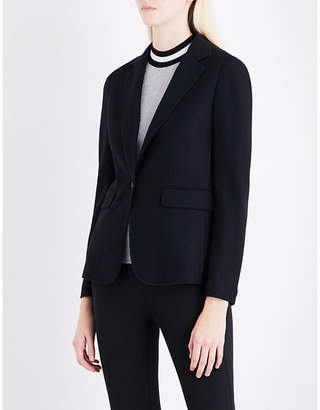 Rag & Bone Ladies Black Club Single-Breasted Wool Blazer