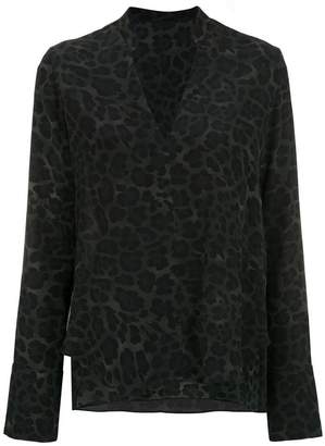 OSKLEN printed silk blouse