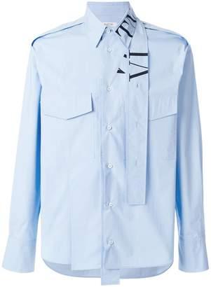 Valentino VLTN tie-collar shirt