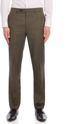 Lauren Ralph Lauren Tan UltraFlex Classic Fit Pants