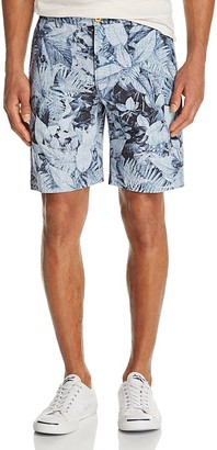 Robert Graham Indonesia Floral Print Shorts $148 thestylecure.com