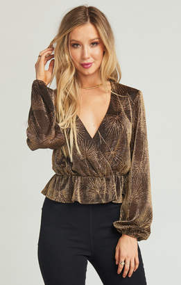 Show Me Your Mumu Richie Top ~ The Goldie Frond