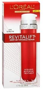 L'Oreal RevitaLift Deep-Set Wrinkle Repair SPF Day Lotion