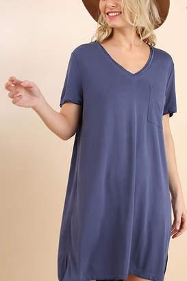 Umgee USA V-Neck Tee Dress