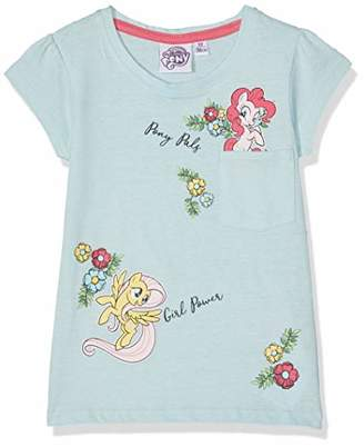 99e8f368f7fd My Little Pony Girl's 6189 T-Shirt, Blue Bleu Clair