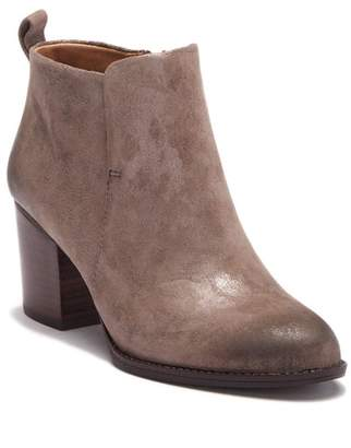 Sofft Ware Burnished Suede Block Heel Bootie