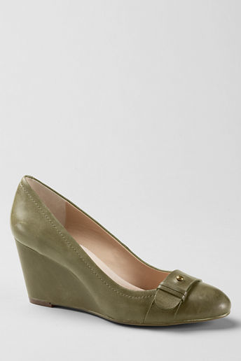 Lands' End Women's Ellery Wedge Shoes