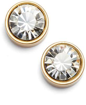 Loren Hope Bezel Set Stud Earrings