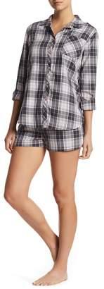 PJ Salvage Pajama Plaid Shorts
