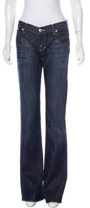Rock & Republic Low-Rise Wide-Leg Jeans