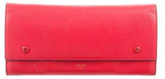 Celine Large Multifunction Flap Wallet