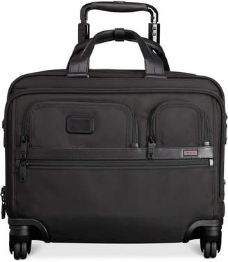Tumi Alpha Deluxe Spinner Brief with Laptop Case