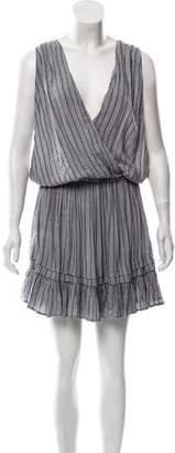 Indah Sleeveless Printed Mini Dress w/ Tags