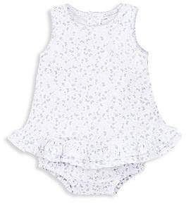 Kissy Kissy Baby Girl's Mini Blooms Pima Cotton Bubble Bodysuit