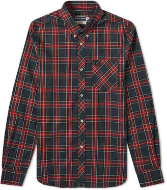 Fred Perry Reissues Tartan Shirt