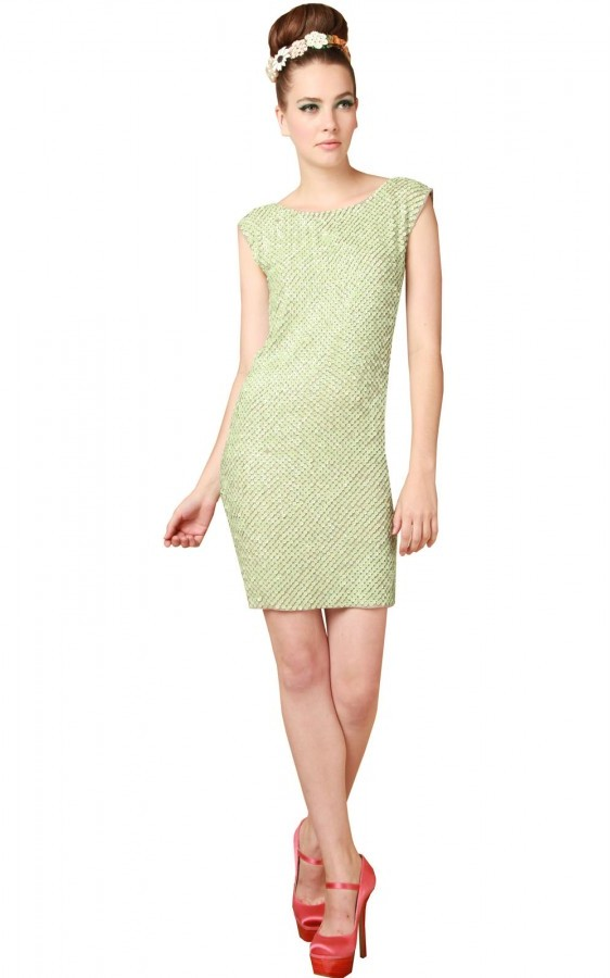 Blume Sequined Tunic Dress