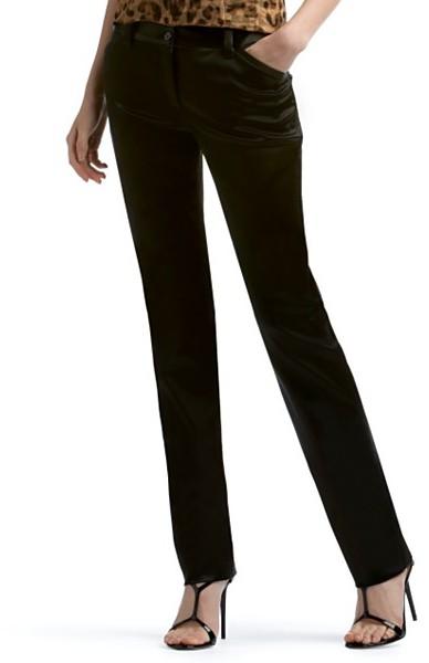 Dolce & Gabbana Satin Skinny Pants
