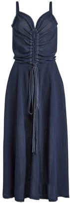 Nina Ricci Cotton Maxi Dress