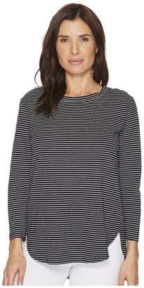 Fresh Produce Pinstripe Catalina Top Women's Clothing