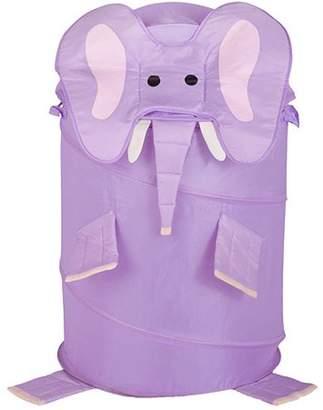 Honey-Can-Do Large Collapsible Kids Pop-Up Hamper, Elephant